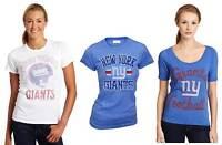 Choose Juniors Junk Food NFL Football New York NY Giants Team T-Shirt Tee Shirt