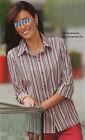 Damen Bluse mit offenem Hemdkragen gestreift 3/4 Arm NEU!!!* 2671913