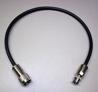 0,5 m H 2005 (50 Ω) konfektioniert mit N-Stecker / BNC-Stecker