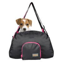 Pink&Black Small Pet Carrier Dog Cat Comfort Travel Tote Shoulder Bag Handbag