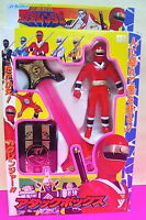 1994 POWER RANGERS VINYL FIGURE RED KAKURANGER SWORD SENTAI ATTACK BOX TOKUSATSU