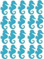 20 Seahorse  sticker's, tiles ,cars, glass, walls, laptops