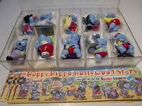 Die Happy Hippo Hollywood Stars *** komplettsatz mit 5 Bpz