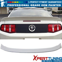 10-14 Ford Mustang D Style OEM Painted Color Trunk Spoiler - OEM Painted Color