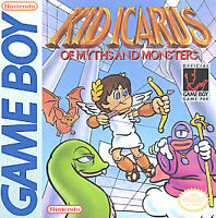 KID ICARUS OF MYTHS AND MONSTERS GAME BOY COSMETIC WEAR