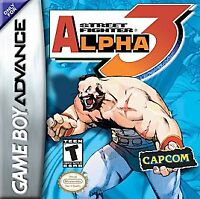 STREET FIGHTER ALPHA 3 GAME BOY ADVANCE GBA COSMETIC WEAR