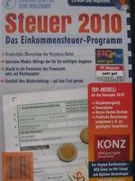 ALDI STEUER CD 2010 NEU OVP Lexware Elster KONZ Einkommensteuerprogramm