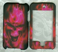 FOR IPOD TOUCH 2G 3G 2ND 3RD GEN HUNTER pink skul CASE COVER SKIN FACEPLATE HARD