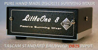 Summing Mixer LittleOne 8x2 DB25 in TRS out NEW!