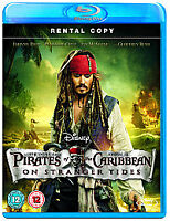 Pirates Of The Caribbean - On Stranger Tides (Blu-ray, 2011)