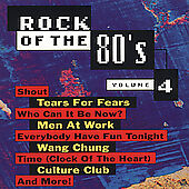 Rock Of The 80's, Vol. 4 Various Artists Audio CD
