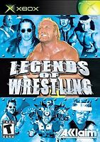 LEGENDS OF WRESTLING ORIGINAL XBOX DISC ONLY