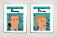 The Sweeney Limited Edition Poster Set 30 x 40 cm Retro Cult tv 1970s