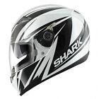 casque intégral casque capacete casque casque Shark S700s Line Up Blanc