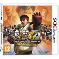 Super Street Fighter IV: 3D Edition (3DS)  - New/Sealed