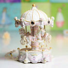* Creative White 18 Sound Clockspring The Carousel Castle in the Sky Music Box
