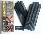 Isotoner Men's Classic Thinsulate Lined Stretch Winter Gloves Black Size M/L