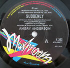 """ANGRY ANDERSON SUDDENLY ORIGINAL AUSTRALIAN RELEASE 7"""" 45rpm RECORD"""