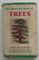 1963 The Observer's Book of Trees no 4 by W J Stokoe - 897.363
