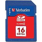 NEW Verbatim 16GB SDHC Card (Class 4) Camera Photo Video Music SD-Memory Card