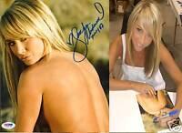 Sara Jean Underwood Signed 8x10 Photo PSA/DNA COA 2007 Picture Playboy Autograph