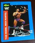 Rick Martel Signed 1991 WWF WWE Classic Card #8 Autograph Auto'd The Model