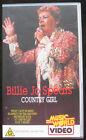 BILLIE JO SPEARS COUNTRY GIRL MEGA RARE VHS VIDEO TAPE