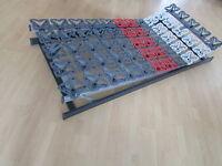 Lattenrost Teller mit Kopf & Fußverstellbar Tellerrahmen 90x200 Made in Germany