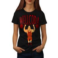 Workout Sport Wellcoda Women T-shirt S-2XL NEW | Wellcoda