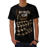 Retro Type Old Vintage Men T-shirt S-5XL NEW | Wellcoda