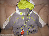 Baby Toddler Girls Size 12-18 Mth  ** OLD NAVY **  4 In 1 Jacket Coat NWT