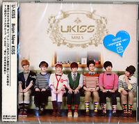 U-KISS-BRAN NEW KISS-JAPAN CD ONLY D73