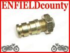 EARLY ROYAL ENFIELD FRONT BRAKE PLATE PIVOT PIN & NUT @AUD