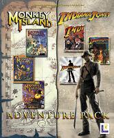 LucasArts Adventure-Pack (PC, 2002, Eurobox) TOP Zustand