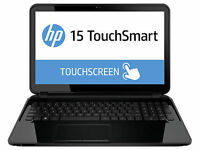 HP TouchSmart 15-d020nr 15.6in. (500GB, AMD A Series Quad-Core, 1.5GHz, 4GB)