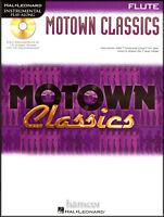 Motown Classics Flute Instrumental Play-Along Sheet Music Book with CD