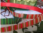 Popular W 9 MM L 100 Yards Double-Sided Dacron Gift Packaging Belt