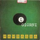 MAMBASSA raro CD SINGLE promo radio 1 traccia 1999 MADE IN ITALY 8 giorni