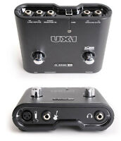 LINE 6 UX1 POD STUDIO GUITAR AUDIO INTERFACE SOUND CARD USB 2