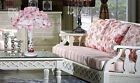 * European Pastoral Style Pink Lace Fabric Wedding Bedroom Table Lamp/Light -