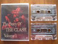 THE STORY OF THE CLASH VOLUME 1 RARE DOUBLE CASSETTE