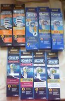 ORAL B  TOOTH BRUSH HEADS  3D - VARIOUS  USE  MENU PLEASE