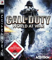 PS3 / Sony Playstation 3 Spiel - Call of Duty: World at War(mit OVP)(USK18)(PAL)