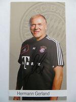 Handsignierte AK Autogrammkarte *HERMANN GERLAND* Bayern München 12/13 2012/2013