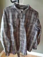 Columbia Men's Big and Tall Silver Ridge Long Sleeve Shirt - 2X - Choose Color