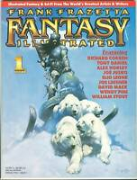 Frank Frazetta Fantasy Illustrated 1 Magazine Art VF