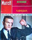 Paris Match n°1032 du 15 fevrier 1969 Frank BORMAN + Référendum