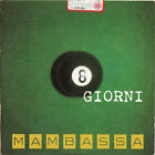 MAMBASSA raro CD SINGLE promo radio 1 traccia 1999 MADE IN ITALY 8 giorni