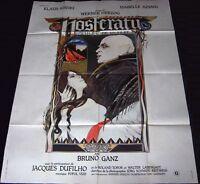 1979 Nosferatu the Vampyre ORIGINAL FRENCH POSTER Klaus Kinski Werner Herzog