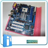 Platte Hauptplatine mATX 865G ASRock P4i65G Socket / Buchse 478 mit Zubehör